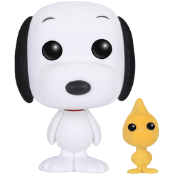 Snoopy & Woodstock (Flocked)