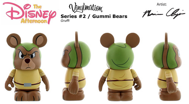Vinylmation Open And Misc Disney Afternoon 2 Gruffi