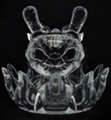 "Kid Robot 8"" Dunnys Imperial Lotus Dragon (Clear)"