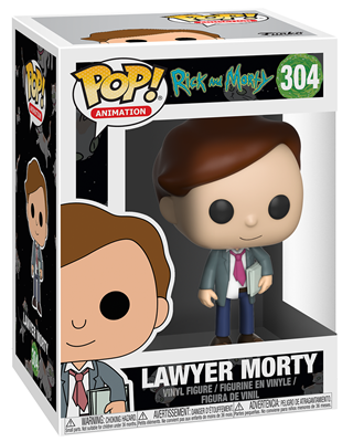 Funko Pop! Animation Morty (Lawyer) Stock
