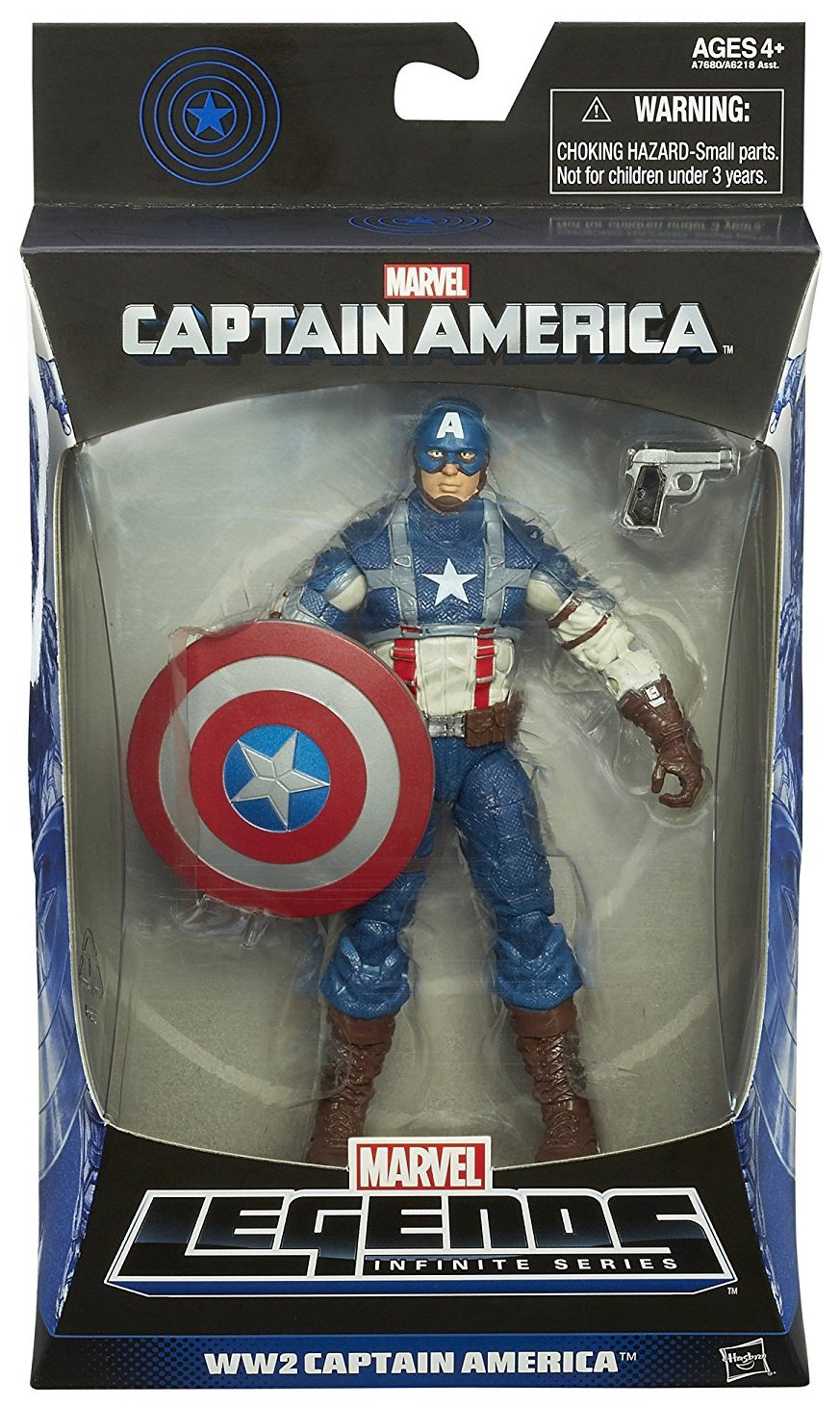 Marvel Legends Mandroid Series Captain America (WW2)