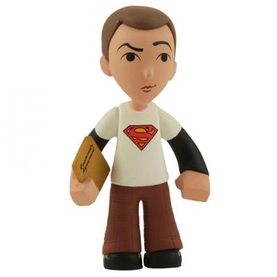 Mystery Minis Big Bang Theory White Superman Sheldon