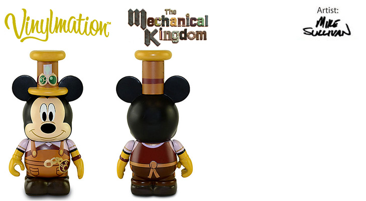 Vinylmation Open And Misc Mechanical Kingdom Mickey