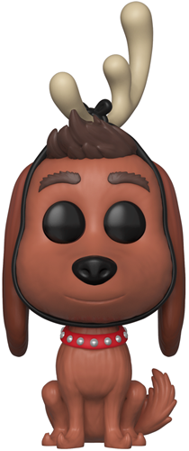 Funko Pop! Movies Max the Dog (w/ Antlers) Icon