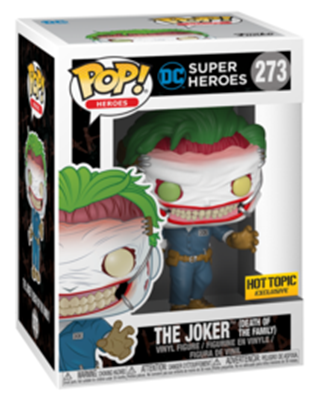 Funko Pop! Heroes The Joker (Death of the Family) Stock