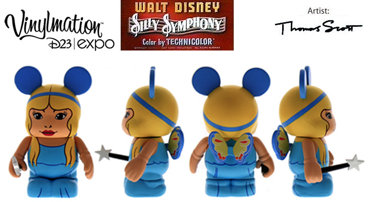 Vinylmation Open And Misc Silly Symphony Blue Fairy