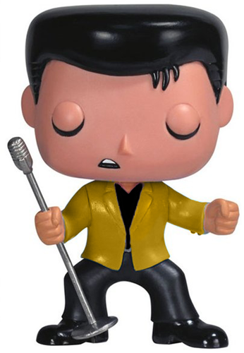 Funko Pop! Rocks Elvis (1950's) - Gold Chase
