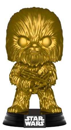 Funko Pop! Star Wars Chewbacca (Gold) (Metallic)