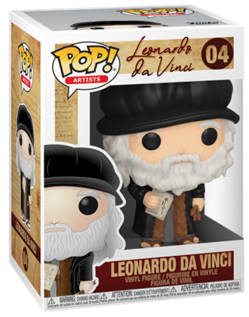 Funko Pop! Other Leonardo da Vinci Stock