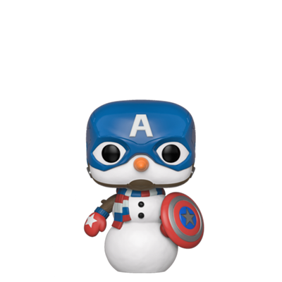 Funko Pop! Marvel Captain America (snowman)