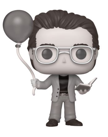 Funko Pop! Ad Icons Stephen King with Red Balloon Black & White