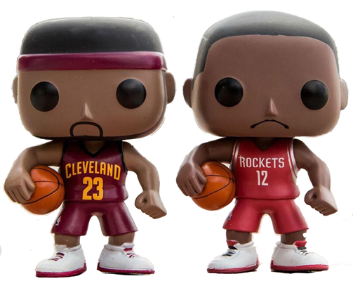 Funko Pop! Sports Lebron James vs Dwight Howard