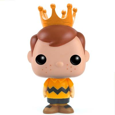 Funko Pop! Freddy Funko Charlie Brown (Orange Shirt)