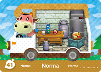 Amiibo Cards Welcome amiibo Norma Icon
