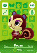 Amiibo Cards Animal Crossing Series 2 Pecan