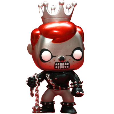 Funko Pop! Freddy Funko Ghost Rider (Metallic)