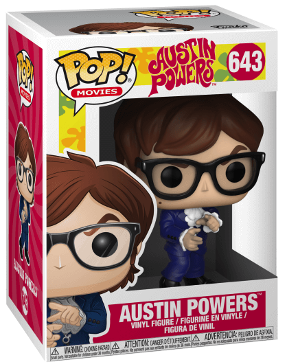 Funko Pop! Movies Austin Powers Stock