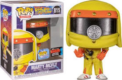 Funko Pop! Movies Marty McFly (Haz Mat) Stock