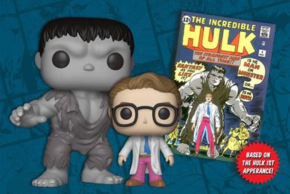 Funko Pop! Marvel Hulk and Bruce Banner