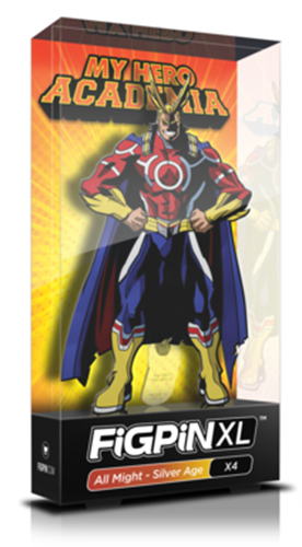 FiGPin My Hero Academia All Might - Silver Age Stock