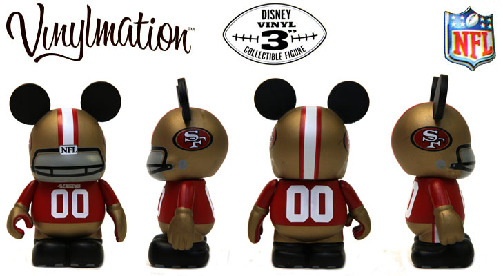 Vinylmation Open And Misc NFL San Francisco 49ers