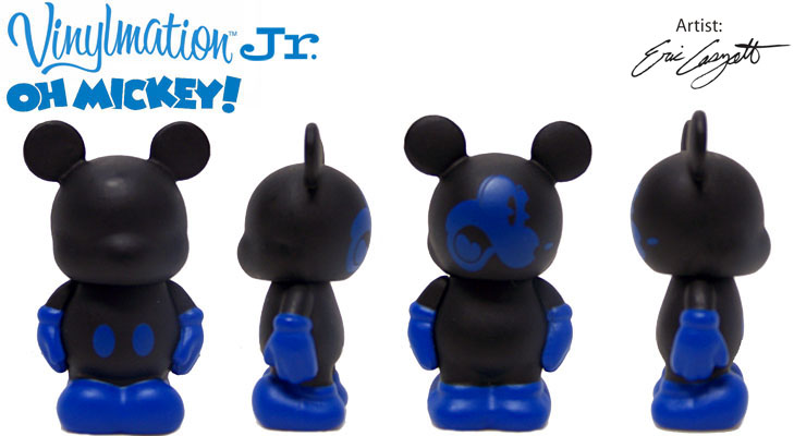 Vinylmation Open And Misc Oh Mickey! Jr Black / Blue