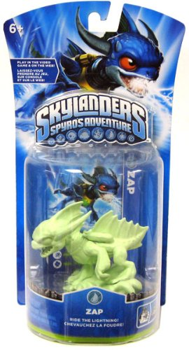 Skylanders Spyro's Adventures Zap (Glow in the Dark) Stock
