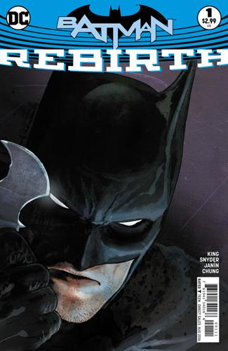 DC Comics Batman: Rebirth (2016) Batman: Rebirth (2016) #1 Stock