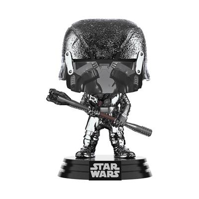 Funko Pop! Star Wars Knight of Ren (War Club) (Hematite Chrome)