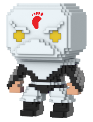 Funko Pop! 8-Bit Foot Soldier (White)