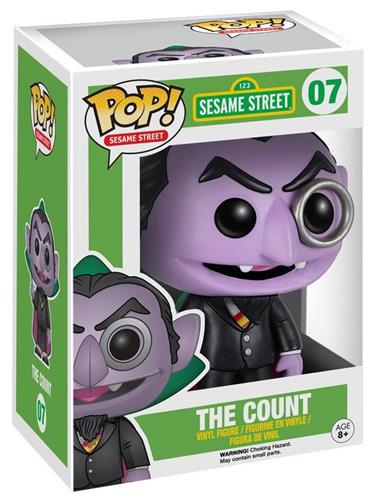Funko Pop! Sesame Street The Count Stock