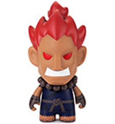 Kid Robot Street Fighter x Kidrobot Shin Akuma 7in