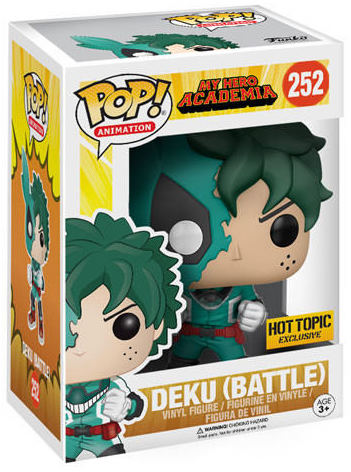Funko Pop! Animation Deku (Battle) Stock