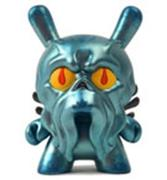 Kid Robot Special Edition Dunny Blue Metallic Howie Phillips