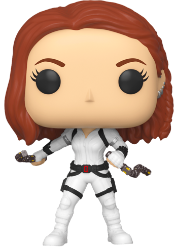 Funko Pop! Marvel Black Widow (White Suit)