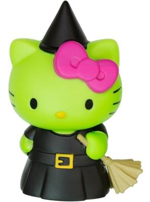Mystery Minis Hello Kitty Green Witch