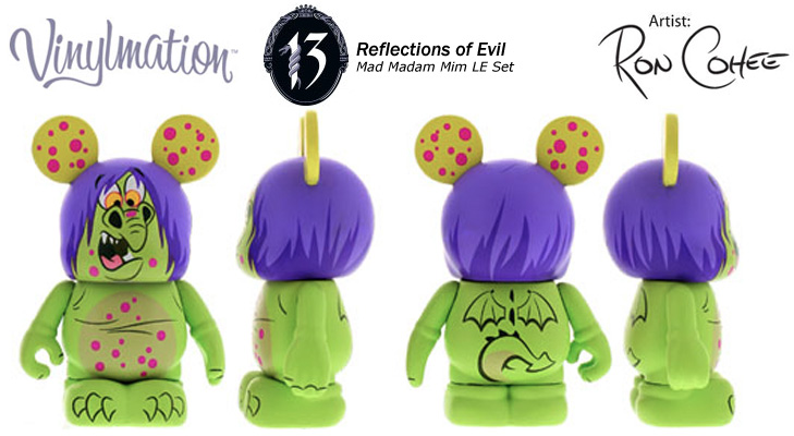 Vinylmation Open And Misc 13 Reflections of Evil Dragon