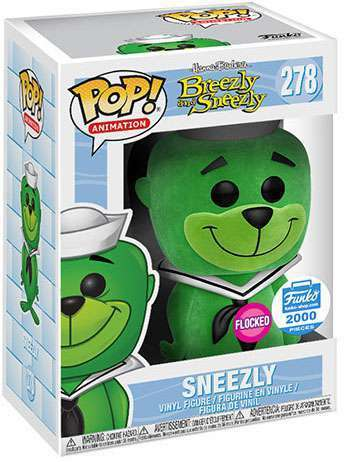 Funko Pop! Animation Sneezly (Flocked) Stock