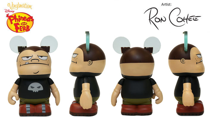 Vinylmation Open And Misc Phineas & Ferb Buford
