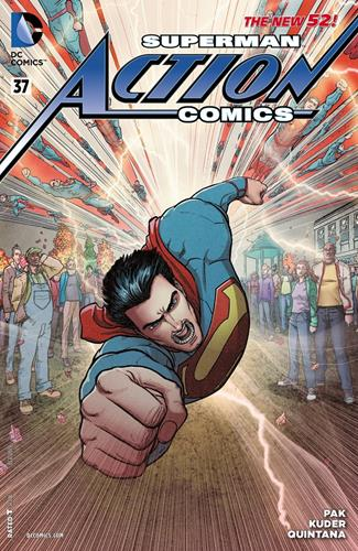 DC Comics Action Comics (2011 - 2016) Action Comics (2011) #37C Stock