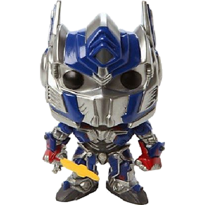 Funko Pop! Movies Optimus Prime w/ Sword Icon