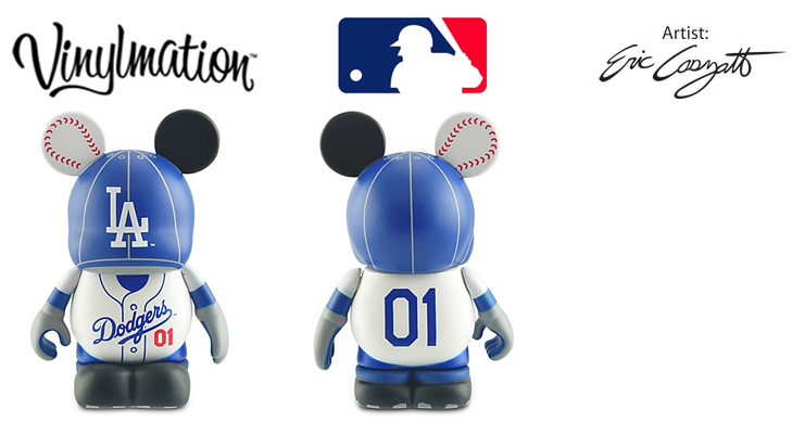 Vinylmation Open And Misc MLB Los Angeles Dodgers