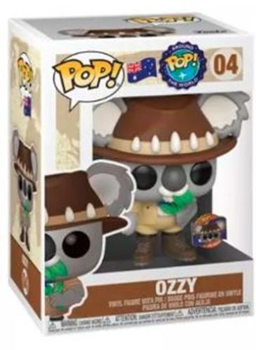 Funko Pop! Around The World Ozzy Stock