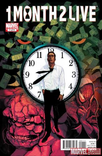 Marvel Comics Heroic Age: One Month to Live (2010) Heroic Age: One Month to Live (2010) #1 Icon