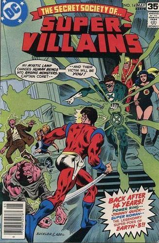 DC Comics Secret Society of Super-Villains (1976 - 1978) Secret Society of Super-Villains (1976) #14