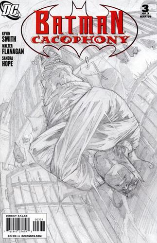 DC Comics Batman Cacophony (2008) Batman Cacophony (2008) #3 (Adam Kubert Sketch Variant Cover) Stock