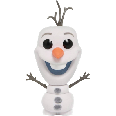 Funko Pop! Disney Olaf (Flocked) Icon
