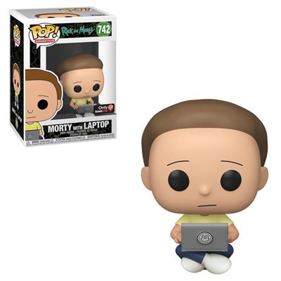 Funko Pop! Animation Morty with Laptop