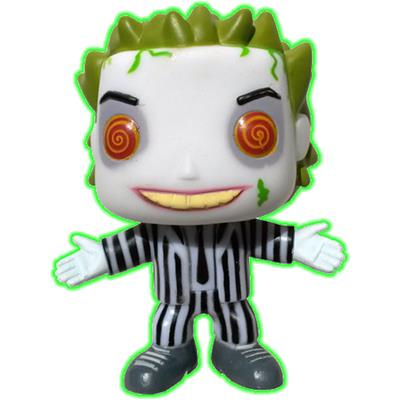 Funko Pop! Movies Beetlejuice (Glow) - CHASE Icon