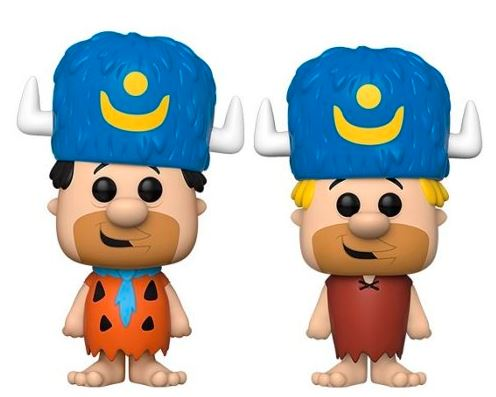Funko Pop! Animation Fred Flinstone & Barney Rubble 2-Pack Bundle